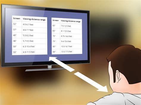 Tv Led Yg Besar comment mesurer la taille de t 233 l 233 viseur 7 233