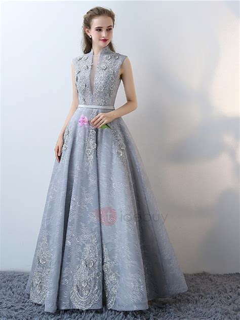prom dresses nottingham formal dresses modern a line high neck lace cap sleeves lace flowers
