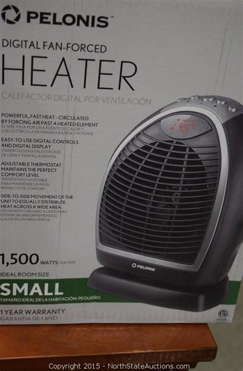 pelonis portable fan heater state auctions auction november auction item 2