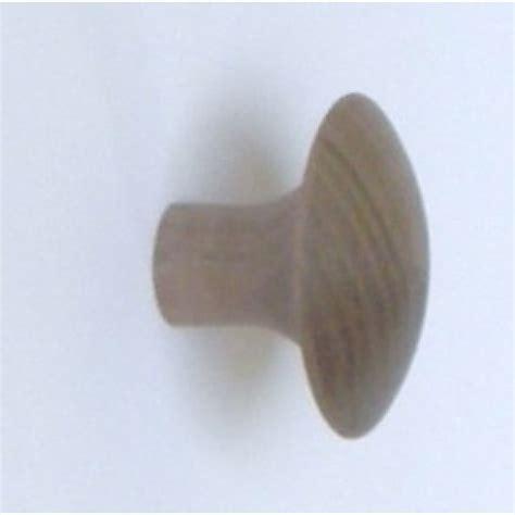Walnut Knob by Knob Style J 44mm Walnut Sanded Wooden Knob