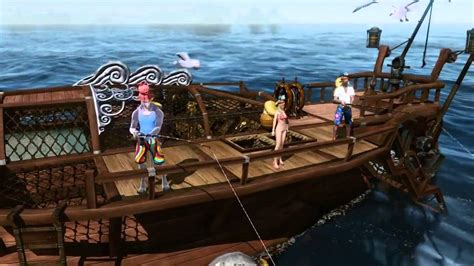 fishing boat archeage archeage trailer kr 22 new fishing boat youtube