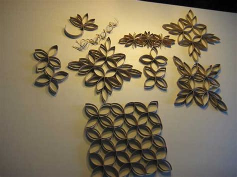 Toilet Paper Roll Crafts Wall - 27 diy paper toilet roll crafts that will beautify your walls