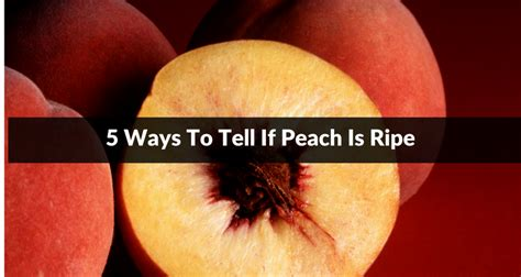 Ways To Tell If Your Diet Is Working by How To Tell If A Is Ripe To Eat