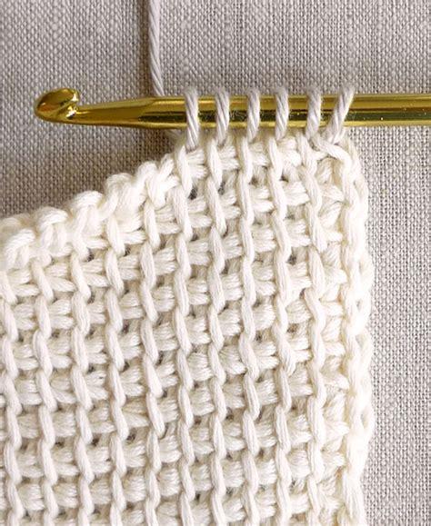 video tutorial tunisian crochet tunisian crochet projects andrea s notebook