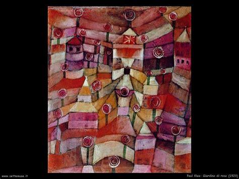 paul klee giardino di paul klee pittore opere quadri settemuse it