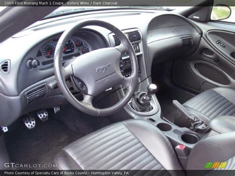 charcoal interior 2004 mustang mach 1 coupe photo