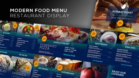 template after effects restaurant 26 great after effects for pizza restaurant design