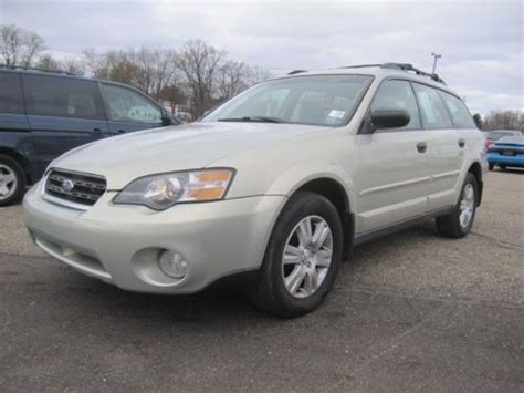 tan subaru outback buy used 05 06 subaru outback awd 2 5 wagon 5door