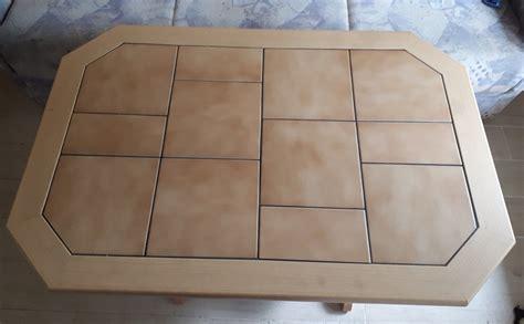 Tisch Mit Fliesen H 246 Henverstellbar Ausziehbar Eur 19