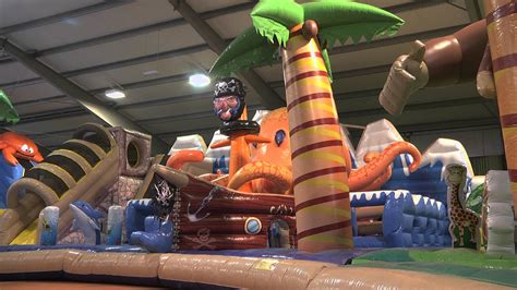 bouncy house the biggest bouncy castle moonwalk bounce house in the world official video youtube