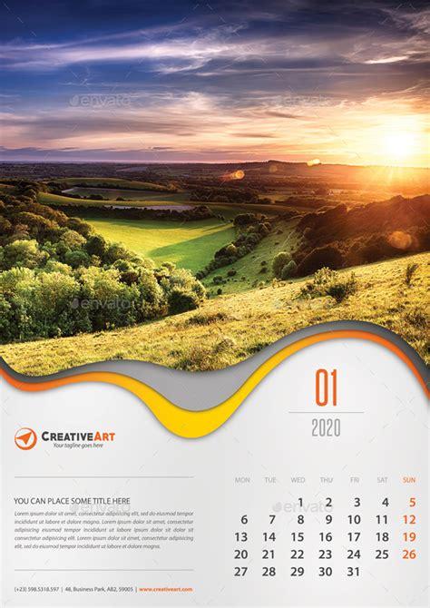creative wall calendar    rapidgraf graphicriver