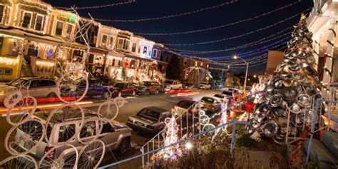 the miracle on 34th street light display visit baltimore