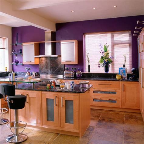 kitchen color combinations ideas mor renkli mutfaklardekorasyon cini dekorasyon cini