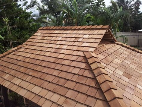 Gable Roof Materials Cedar Roof Gable Cabana What S Your Style