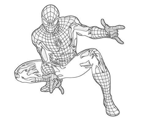 amazing spider man 2 coloring pages high quality