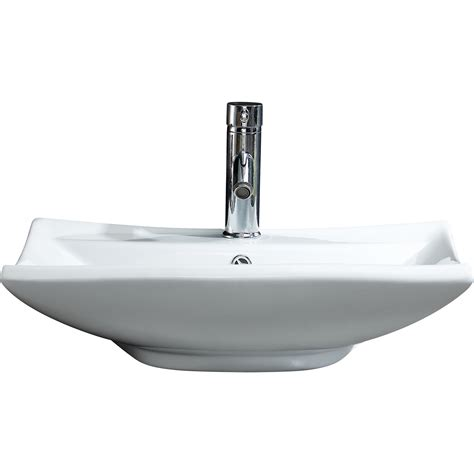 Vessel Sink With Overflow by Fixtures Modern Vitreous Square Vessel Sink Vessel