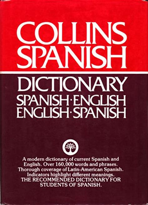 libro collins spanish dictionary complete collins spanish dictionary spanish english english spanish colin smith used books from