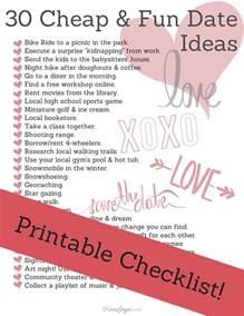 Date Ideas 30 Cheap Date Ideas