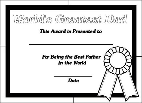 printable coloring pages for dads fathers day coloring pages certificate happy fathers day