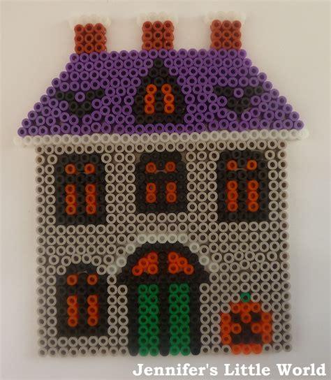 hama beads house design jennifer s little world blog parenting craft and travel hama bead crafts for halloween