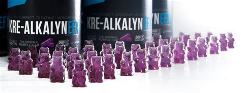 creatine gummies kre alkalyn gummy bears efx sports