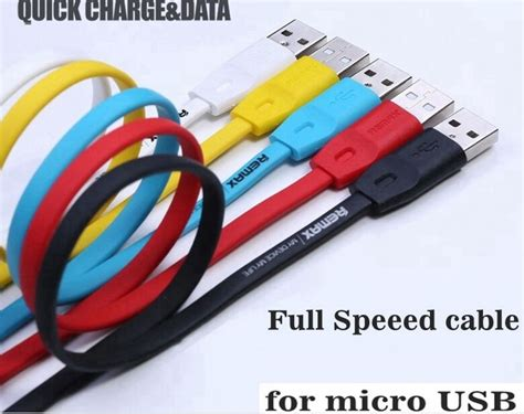 Kabel Data Fleco High Speed remax speed micro usb cable 2m for smartphone rc