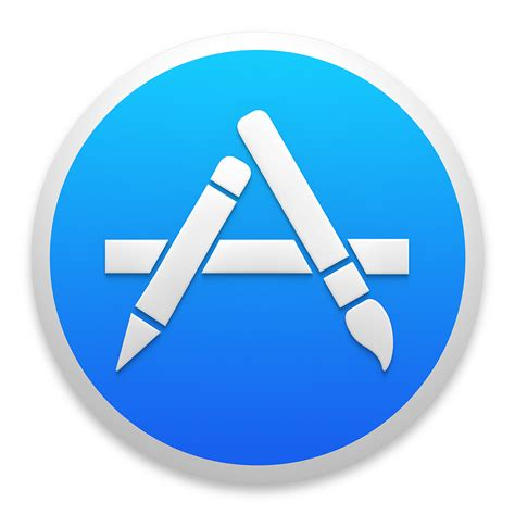 apple app store appstore icon os x yosemite preview iconset johanchalibert