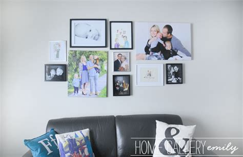 family photo gallery wall portrait gallery wall images