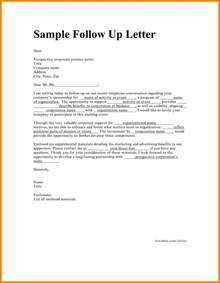 Exles Of Follow Up Letters After Sending Resume by 12 Follow Up Letter For Application Assembly Resume