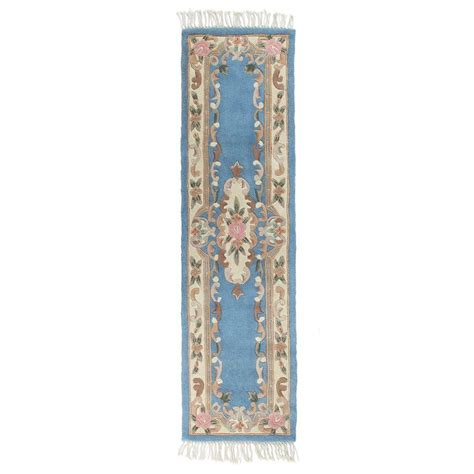 home decorators collection imperial light blue 2 ft 6 in