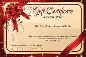 Peace Place Gifts Red Bow Gift Certificate $25 Gift Card