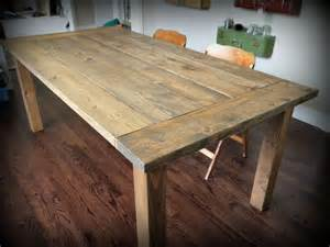 How To Build A Rustic Dining Room Table Ana White Red Hen Home Farmhouse Table Diy Projects
