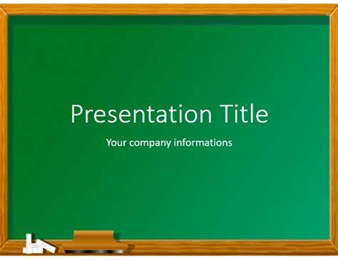 black board design powerpoint templates black education green chalkboard free powerpoint template