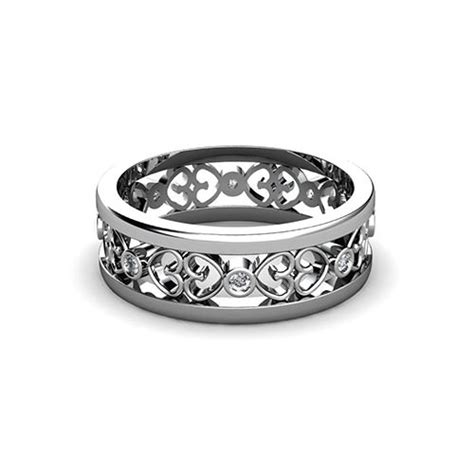open filigree wedding ring jewelry designs