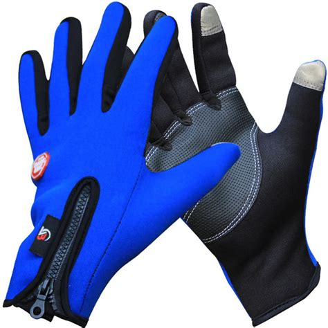 bike gloves outdoor winter thermal sports bike gloves windproof warm