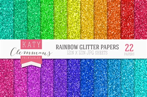 Bumper 3d Pelangi Rainbow rainbow glitter papers bumper pack textures on creative market