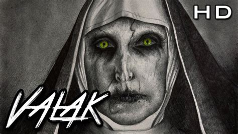 imagenes a blanco y negro de miedo aterrador dibujo a l 225 piz de valak la monja demon 237 aca del
