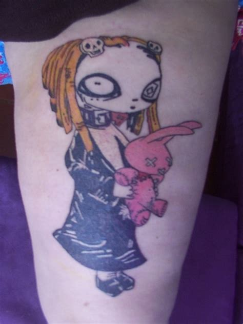 tattoos cartoon did lenore character by roman dirge tattoo picture at