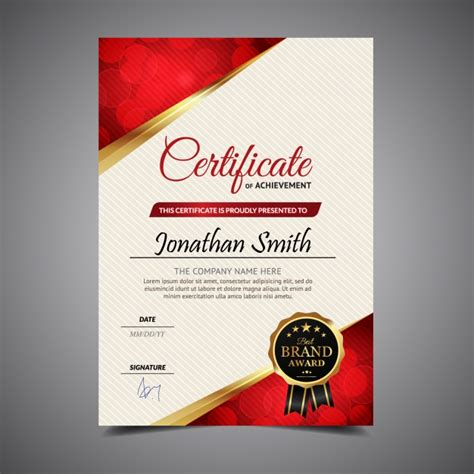 White Sertifikat and white vertical certificate vector free