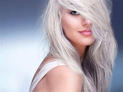 trend haare graue haare der haarfarben trend nivea