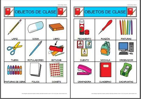 imagenes de utiles escolares con su nombre los objetos blog de funnyenglishpfc