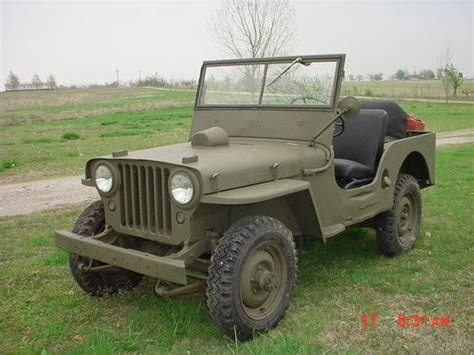 1946 Willys Jeep Specs Find Used Early 1946 Willys Vec Jeep Serial Number Cj2a