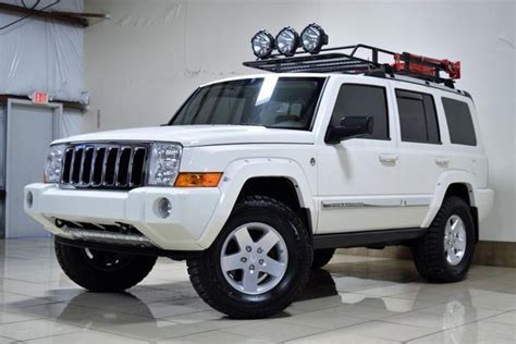 jeep commander silver lifted 1j8hg582x6c311291 jeep commander limited lifted quadra