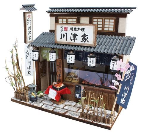 asian doll house doll house miniature model kit figure handcraft unagi japanese eel shop billy ebay