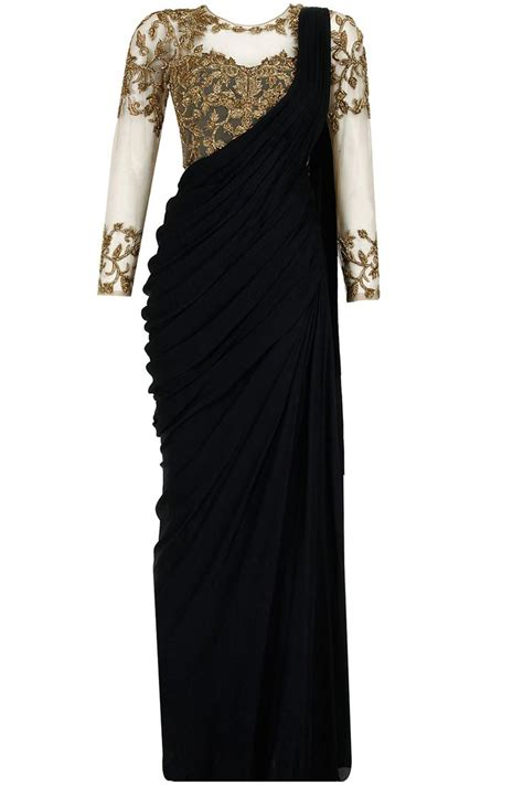 Vala Drape Dress Pink 25 best ideas about black saree on saree
