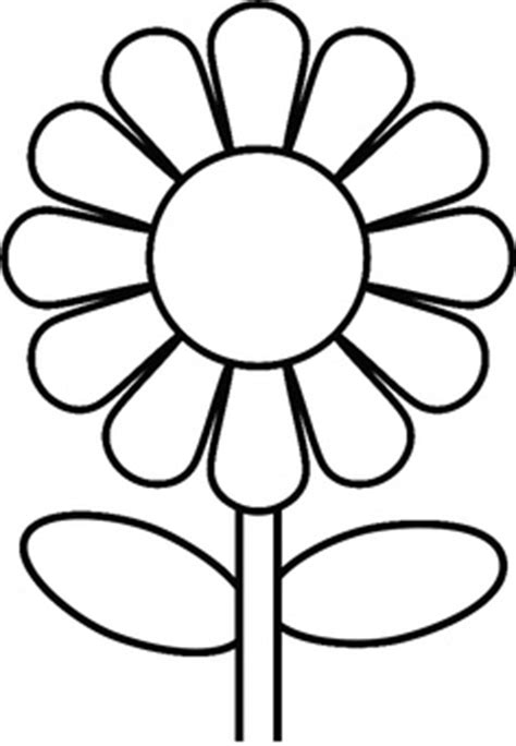daisy template clipart best