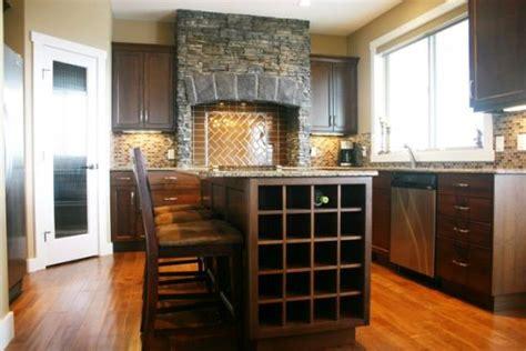 wine rack kitchen island 21 clever ways to maximize kitchen cabinet storage