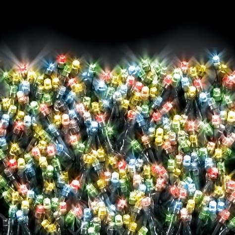 lytworx 1000 led multi colour solar fairy lights