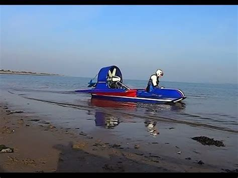 airboat with wings turnstone airboat wing sea trials youtube