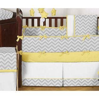 Sweet Jojo Zig Zag Crib Bedding Sweet Jojo Designs Zig Zag Yellow And Gray Collection 9pc Crib Bedding Set